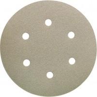 Disco de lija con velcro Ø150mm 6 agujeros G-60 FORUM