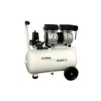Compresor silent-24 (10bar-128l/min) 1cv sin aceite METALWORKS