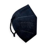Mascarilla FFP2 CE 2163 negra bolsa individual (10 unidades) JEBCON