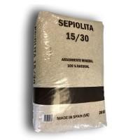 Absorbente sepiolita 15/30 granulos ( saco 20 kg )
