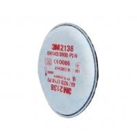 Filtro 2138 P3R partículas, y ozono (soldadura) (1 filtro) 3M