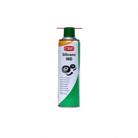 SILICONE IND 500ml - Lubricante para plástico y goma CRC