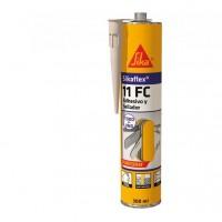 Sellador poliuretano Sikaflex 11FC blanco 300ml SIKA