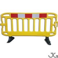 Valla plastico 2x1 m amarilla Navigator reflex Ref.7651