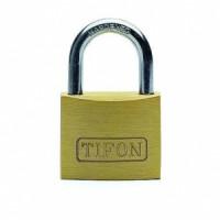 Candado laton Tifon TF40 N m/llave arco normal IFAM