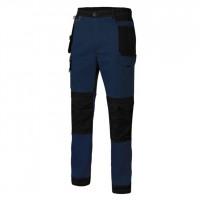 Pantalon Canvas Strech con bolsillos azul navy/negro VELILLA