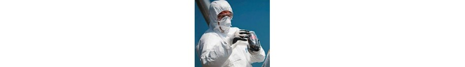 Ropa y guantes de protección